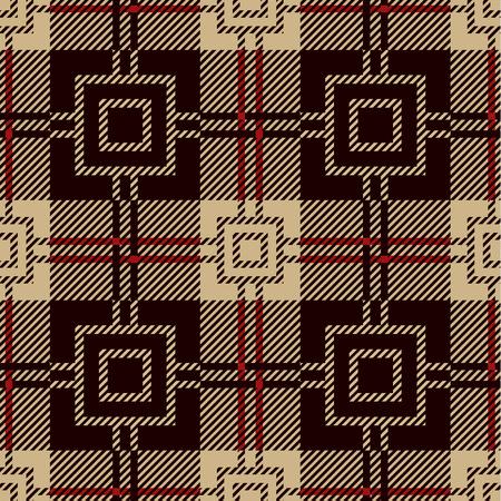 lumberjack shirt: Seamless tile pattern