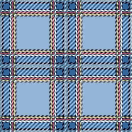 Seamless plaid design