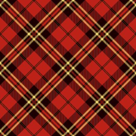 Motif Tartan Seamless. Trendy Vector Illustration pour Fonds d'écran. Seamless Tartan Tiles. Ornement écossais traditionnel. Tartan Plaid Inspiré fond.
