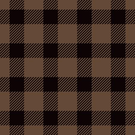 lumberjack shirt: Halloween Tartan Seamless Pattern. Trendy Illustration for Wallpapers.