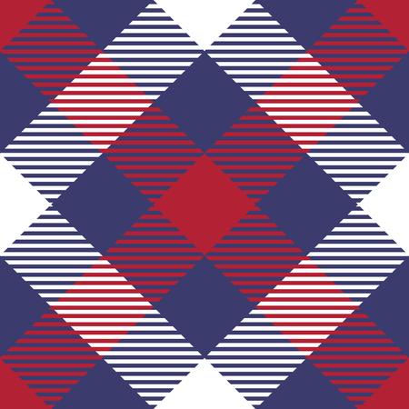 chequer: Seamless plaid pattern