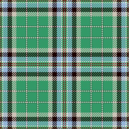 Tartan Seamless Pattern. Trendy Vector Illustration for Wallpapers. Seamless Tartan Tiles. Traditional Scottish Ornament.