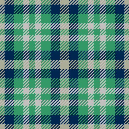 Tartan Seamless Pattern. Trendy Vector Illustration for Wallpapers. Seamless Tartan Tiles. Traditional Scottish Ornament.