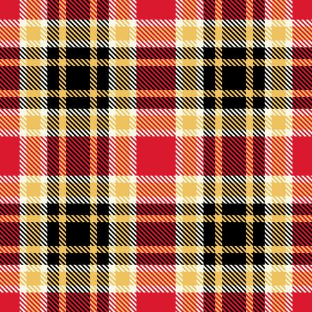 Plaid Tartan Seamless Pattern Background. Traditional Scottish Ornament. Seamless Tartan Tiles. Trendy Vector Illustration for Wallpapers. Illustration