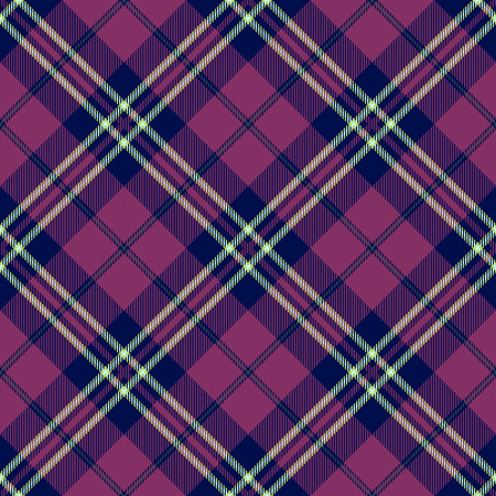 Plaid Tartan Seamless Pattern Background. Traditional Scottish Ornament. Seamless Tartan Tiles. Trendy Vector Illustration for Wallpapers. Illustration