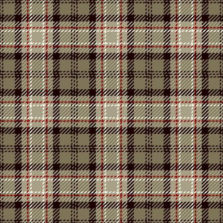 swatches: Tartan Seamless Pattern Background. White, Black, Beige and Red Plaid, Tartan Flannel Shirt Patterns. Trendy Tiles Vector Illustration for Wallpapers.