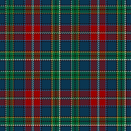 Tartan Seamless Pattern Background. Red, Black, Green, Blue and  Beige  Plaid, Tartan Flannel Shirt Patterns. Trendy Tiles Vector Illustration for Wallpapers.