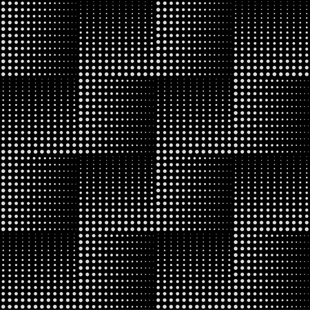 geometric lines: Dotted line geometric pattern. Repeating dotted lines. Dots of the different size. Monochrome. Illustration
