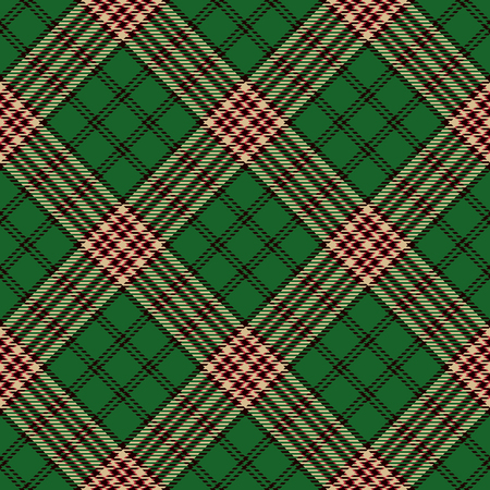 Beautiful Red, Black, Green  and  Beige Plaid, Tartan Flannel Shirt Patterns. Trendy Tiles Vector Illustration for Wallpapers.