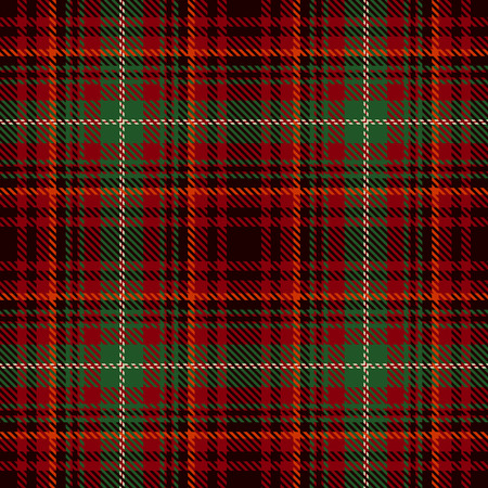 Elegant checkered Seamless Pattern Background. Red, Black, Green  and  White Plaid, Tartan Flannel Shirt Patterns. Trendy Tiles Vector Illustration for Wallpapers. Illustration