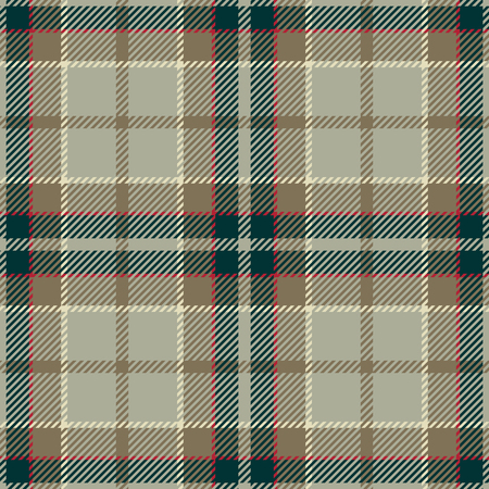 celtic: Tartan Seamless Pattern Background. Red, Black, Beige  and  White Plaid, Tartan Flannel Shirt Patterns. Trendy Tiles Vector Illustration for Wallpapers. Illustration
