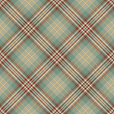 Tartan Seamless Pattern Background. Beige, Red, Green   and  White Plaid, Tartan Flannel Shirt Patterns. Trendy Tiles Vector Illustration for Wallpapers.
