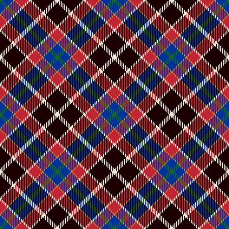 Tartan Seamless Pattern Background. Blue, Red, Black   and  White Plaid, Tartan Flannel Shirt Patterns. Trendy Tiles Vector Illustration for Wallpapers.
