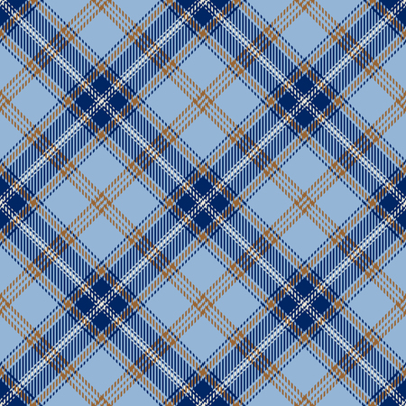 Tartan Seamless Pattern Background. Yellow, Blue  and  White Plaid, Tartan Flannel Shirt Patterns. Trendy Tiles Vector Illustration for Wallpapers.