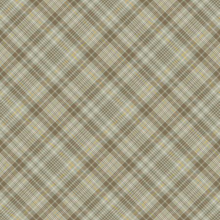 Tartan Seamless Pattern Background. Brown, Yellow, Gray  and  White Plaid, Tartan Flannel Shirt Patterns. Trendy Tiles Vector Illustration for Wallpapers Illustration