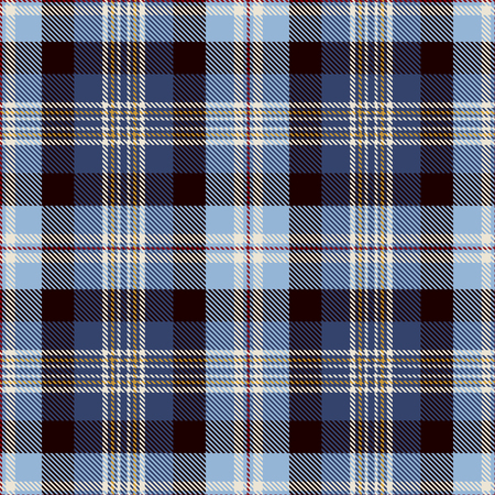 Tartan Seamless Pattern Background. Red, Blue, Black, Yellow  and  White Plaid, Tartan Flannel Shirt Patterns. Trendy Tiles Vector Illustration for Wallpapers.