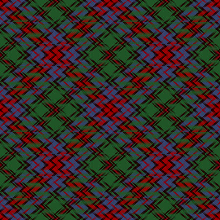 Tartan Seamless Pattern Background. Red, Black, Green  and  Blue  Plaid, Tartan Flannel Shirt Patterns. Trendy Tiles Vector Illustration for Wallpapers