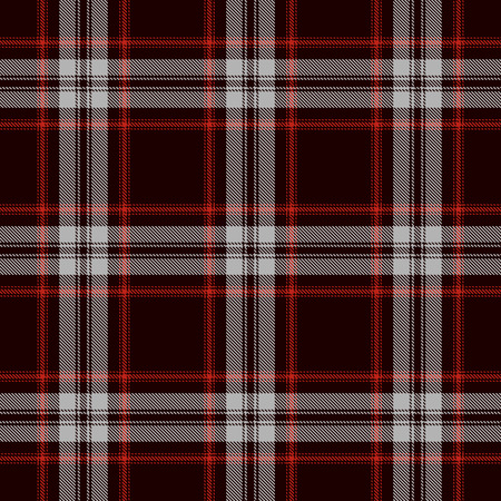 Tartan Seamless Pattern Background. Red, Black  and  Gray  Plaid, Tartan Flannel Shirt Patterns. Trendy Tiles Vector Illustration for Wallpapers.