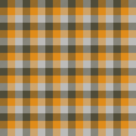 Tartan Seamless Pattern Background. Autumn color panel Plaid, Tartan Flannel Shirt Patterns. Trendy Tiles Vector Illustration for Wallpapers.