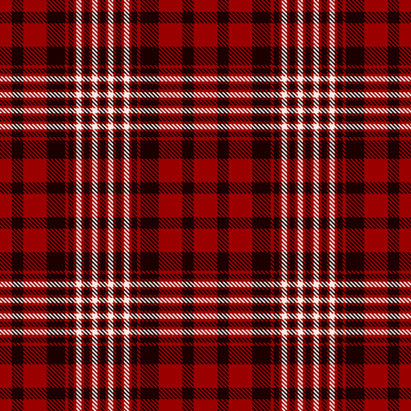 Seamless plaid Pattern Background Ilustrace