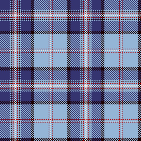 Seamless plaid Pattern Background Illustration