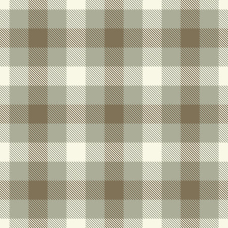 Tartan Seamless Pattern Background. Brown, Beige  and  White  Color  Plaid.  Flannel Shirt Patterns. Trendy Tiles Vector Illustration for Wallpapers.