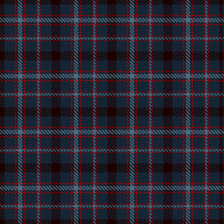 Tartan Plaid Scottish Seamless Pattern Background. Red, Dark Blue, Black  and  Blue  Color  Wrap.  Flannel Shirt Patterns. Trendy Tiles Vector Illustration for Wallpapers. Çizim