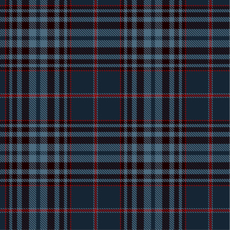 Tartan Plaid Scottish Seamless Pattern Background. Blue, Black and  Red  Color  Wrap. Flannel Shirt Patterns. Trendy Tiles Vector Illustration for Wallpapers. Çizim