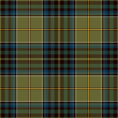 Tartan Plaid Scottish Seamless Pattern Background. Black, Red, Green, Blue, Gold  and  White  Color  Wrap. Flannel Shirt Patterns. Trendy Tiles Vector Illustration for Wallpapers. Çizim