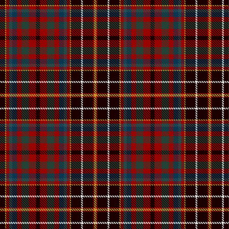Tartan Plaid Scottish Seamless Pattern Background. Black, Red, Green, Blue, Gold and White Color Wrap. Flannel Shirt Patterns. Trendy Tiles Vector Illustration for Wallpapers.