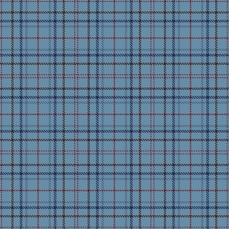 Tartan Plaid Scottish Seamless Pattern Background. Blue, Red and  Gold  Color  Wrap. Flannel Shirt Patterns. Trendy Tiles Vector Illustration for Wallpapers.