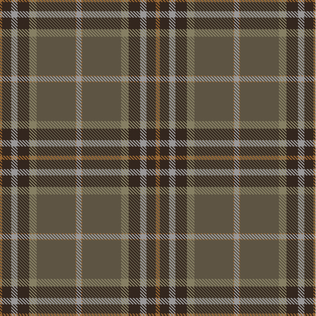 Tartan Plaid Scottish Seamless Pattern Background. Brown, Beige, Orange  and  Gray Color  Wrap.  Flannel Shirt Patterns. Trendy Tiles Vector Illustration for Wallpapers