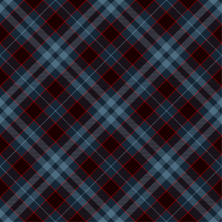 Tartan Plaid Scottish Seamless Pattern Background. Black, Red  and  Blue  Color  Wrap.  Flannel Shirt Patterns. Trendy Tiles Vector Illustration for Wallpapers.