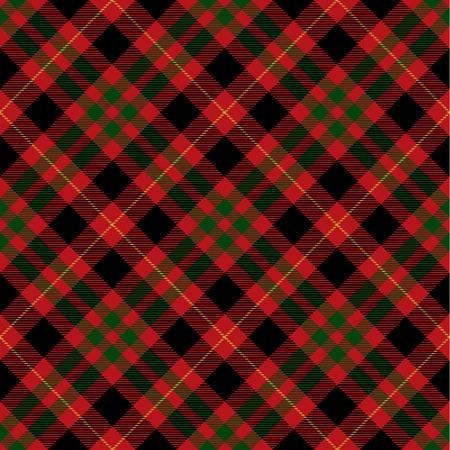 Tartan Plaid Scottish Seamless Pattern Background. Black, Red, Green and  Gray    Color  Wrap.  Flannel Shirt Patterns. Trendy Tiles Vector Illustration for Wallpapers Ilustração