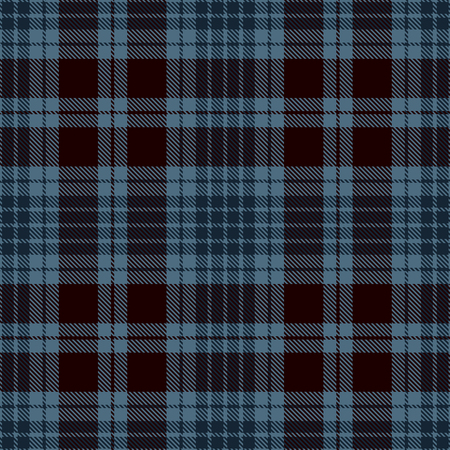 Tartan Plaid Scottish Seamless Pattern Background. Black  and  Blue  Color  Wrap.  Flannel Shirt Patterns. Trendy Tiles Vector Illustration for Wallpapers.