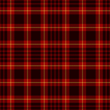 Tartan Plaid Scottish Seamless Pattern Background. Black, Red, Green and  Gold  Color  Wrap.  Flannel Shirt Patterns. Trendy Tiles Vector Illustration for Wallpapers
