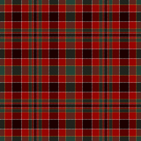 Tartan Plaid Scottish Seamless Pattern Background. Black, Red, Green and  Gray  Color  Wrap.  Flannel Shirt Patterns. Trendy Tiles Vector Illustration for Wallpapers