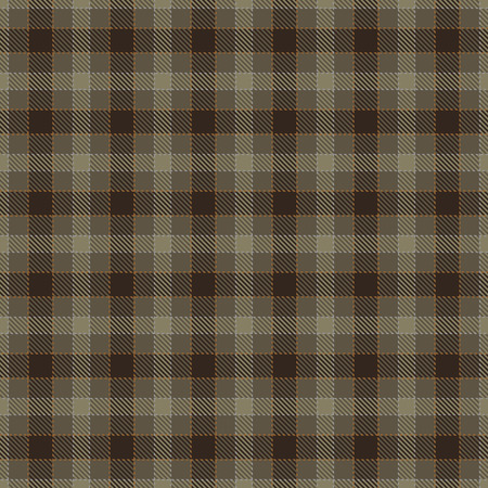 Tartan Plaid Scottish Seamless Pattern Background. Brown, Beige  and  Gray Color  Wrap.  Flannel Shirt Patterns. Trendy Tiles Vector Illustration for Wallpapers