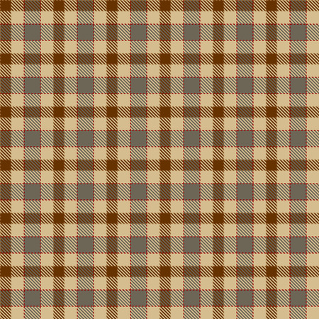 Tartan Plaid Scottish Seamless Pattern Background. Brown, Beige, Red  and  Gray Color  Wrap.  Flannel Shirt Patterns. Trendy Tiles Vector Illustration for Wallpapers