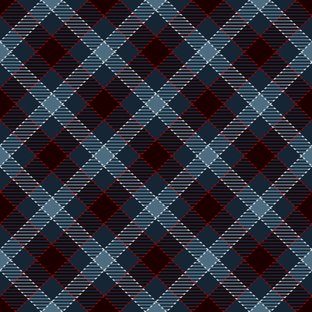 Tartan Plaid Scottish Seamless Pattern Background. Black, Red,  White  and  Blue  Color  Wrap.  Flannel Shirt Patterns. Trendy Tiles Vector Illustration for Wallpapers.