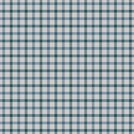 Tartan Plaid Scottish Seamless Pattern Background. Blue, Green and  Gray  Color  Wrap. Flannel Shirt Patterns. Trendy Tiles Vector Illustration for Wallpapers.  イラスト・ベクター素材