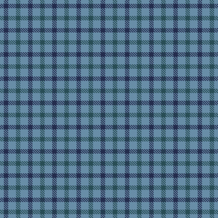 Tartan Plaid Scottish Seamless Pattern Background. Blue and  Green Color  Wrap. Flannel Shirt Patterns. Trendy Tiles Vector Illustration for Wallpapers  イラスト・ベクター素材