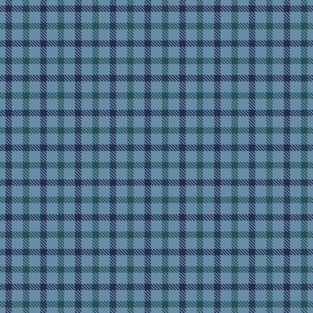 Tartan Plaid Scottish Seamless Pattern Background. Blue and  Green Color  Wrap. Flannel Shirt Patterns. Trendy Tiles Vector Illustration for Wallpapers Ilustração