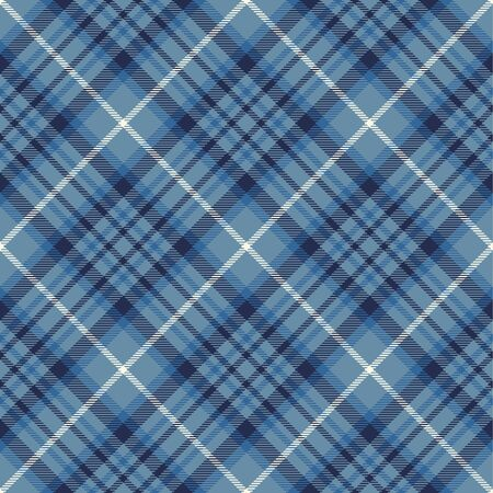 Blue  and  White  Tartan  Plaid  Seamless Pattern Background. Flannel  Shirt Tartan Patterns. Trendy Tiles Vector Illustration for Wallpapers.
