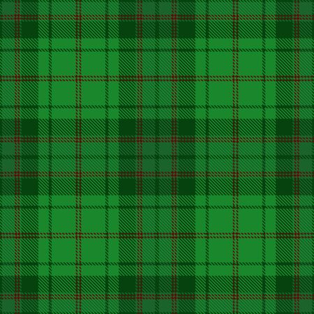 Green,  Red and  White    Tartan  Plaid  Seamless Pattern Background. Flannel  Shirt Tartan Patterns. Trendy Tiles Vector Illustration for Wallpapers.