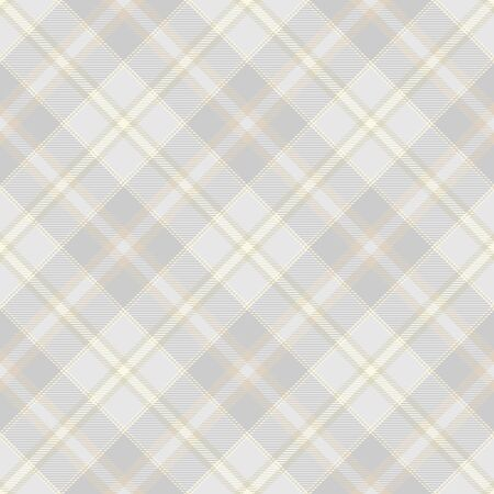 Pastel  Beige, Dusty Beige And Gray  Tartan  Plaid  Seamless Pattern Background. Flannel  Shirt Tartan Patterns. Trendy Tiles Vector Illustration for Wallpapers.