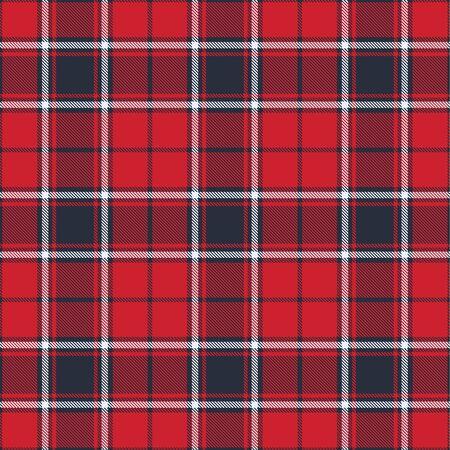 Flame Scarlet Tartan Plaid Seamless Pattern. Flannel Shirt Tartan Patterns. Trendy Tiles Vector Illustration for Wallpapers.