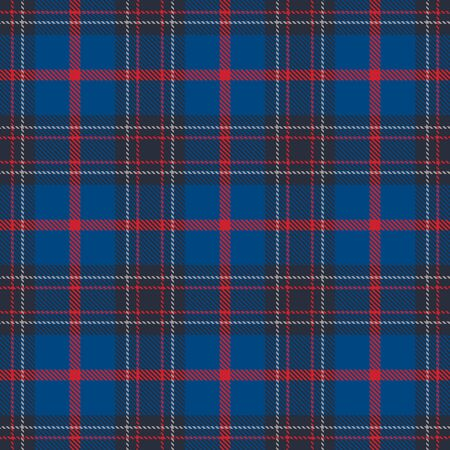 Classic Blue  Tartan  Plaid  Seamless Pattern. Flannel  Shirt Tartan Patterns. Trendy Tiles Vector Illustration for Wallpapers.