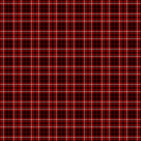 Tartan Seamless Pattern Background in Black, Red and White Color Plaid. Flannel Shirt Patterns. Trendy Tiles Vector Illustration for Wallpapers.