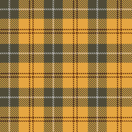 Tartan Seamless Pattern Background. Fall color panel Plaid, Tartan Flannel Shirt Patterns. Autumn Trendy Tiles Vector Illustration for Wallpapers. Banque d'images - 154635407